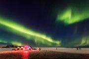 IJsland Jokulsarlon Noorderlicht