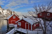 Rorbuer op Lofoten