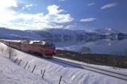 met de trein door Noorwegen