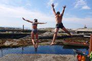 rondreis famile noorwegen zwemmen