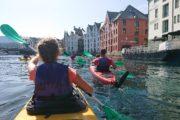 rondreis familie noorwegen kajaktocht